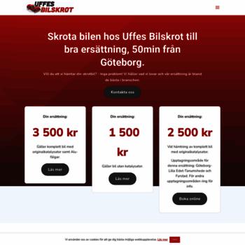 Uffesbilskrot Se At Website Informer Hem Visit