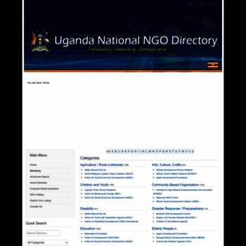 Ugandangodirectory.org thumbnail