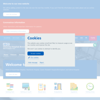 Uhb.nhs.uk thumbnail