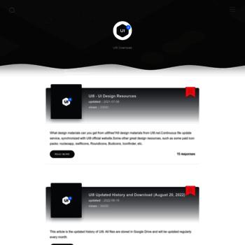 ui8free com at WI  UI8 设计素材- 国内外付费设计素材免费下载