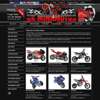 Uk-mini-motos.co.uk thumbnail
