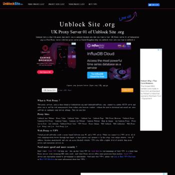 speed proxy unblock uk