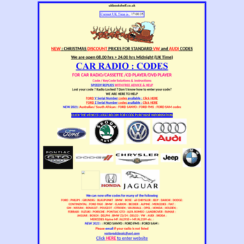 ukbookshelf co uk at WI  Cheap Car Radio Codes