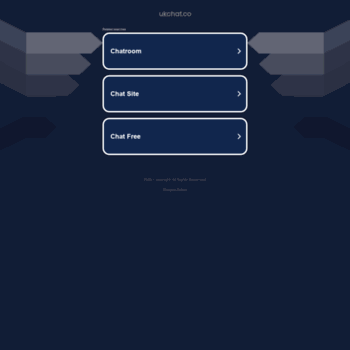 Chat rooms uk
