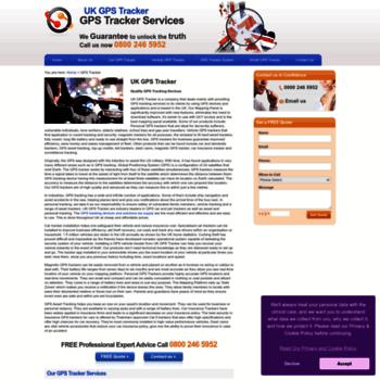 Ukgpstracker.co.uk thumbnail