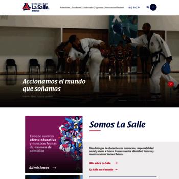 Ulsa.edu.mx thumbnail