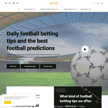 ultimate-tipster com at WI  Ultimate Tipster - The best football