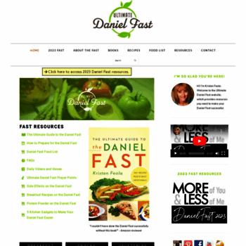 Ultimatedanielfast Com At Wi Daniel Fast Recipes Daniel Fast Food