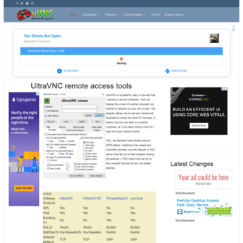 ultravnc info at WI  UltraVNC VNC OFFICIAL SITE, Remote Access
