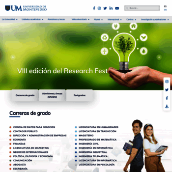Um.edu.uy thumbnail