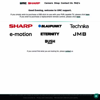 umc-uk co uk at WI  UMC (UK) Limited   Technical Support for Alba