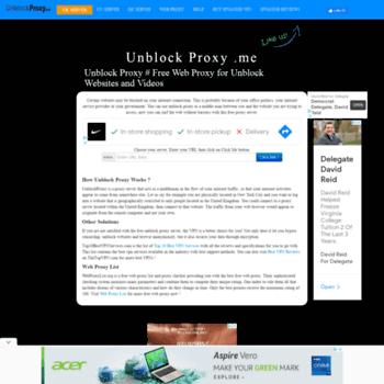 Unblockproxy.me thumbnail