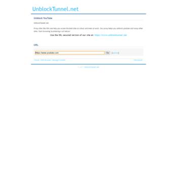 Unblocktunnel.net thumbnail