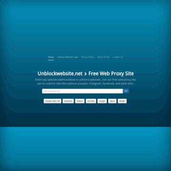 Unblockwebsite.net thumbnail
