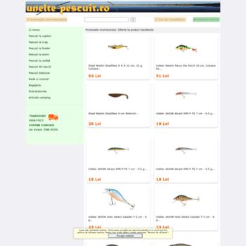 Unelte-pescuit.ro thumbnail