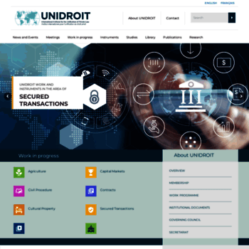 Unidroit.org thumbnail