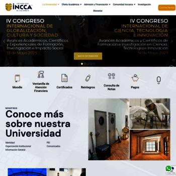 Unincca.edu.co thumbnail