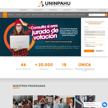 Uninpahu.edu.co thumbnail