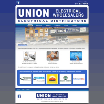 Unionelectrical.co.za thumbnail