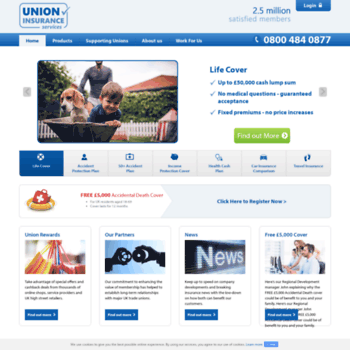 Unioninsurance.co.uk thumbnail