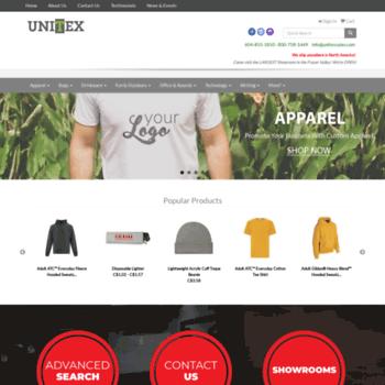 Unitex.ca thumbnail