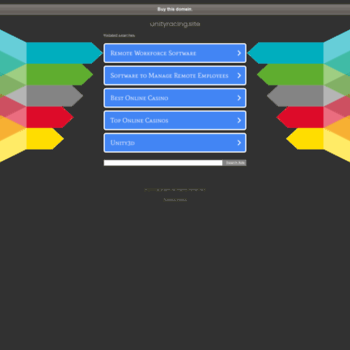 Unityracing.site thumbnail