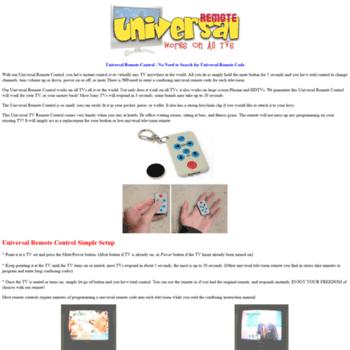 Universal-remote.net thumbnail