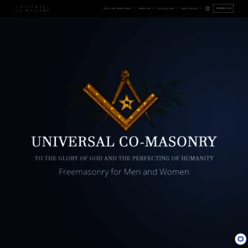 Universalfreemasonry.org thumbnail