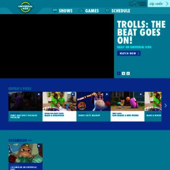 universalkids com at WI  Universal Kids