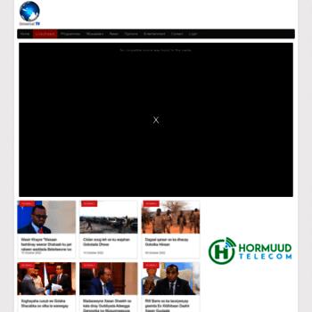 universalsomalitv net at WI  Universal Somali TV