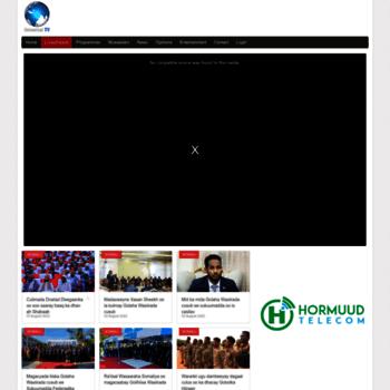 universaltvsomali net at WI  Universal Somali TV