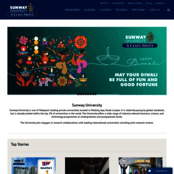 University.sunway.edu.my thumbnail