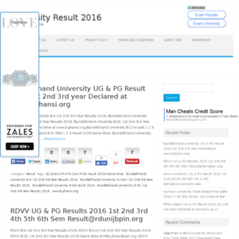 Universityresult2016.in thumbnail
