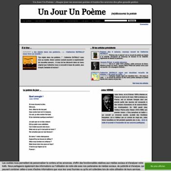 Unjourunpoeme.fr thumbnail