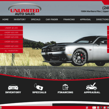 Unlimitedautomd Com At Wi Unlimited Auto Sales Used Cars Upper