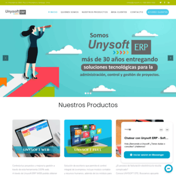 Unysoft.cl thumbnail