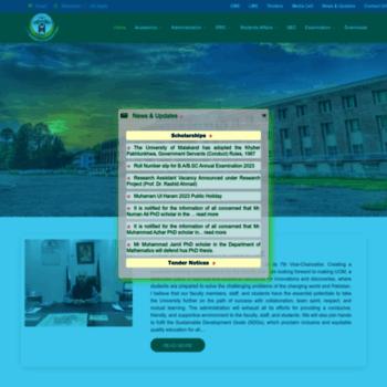 Uom.edu.pk thumbnail