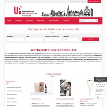 Up-werbemittel.de thumbnail