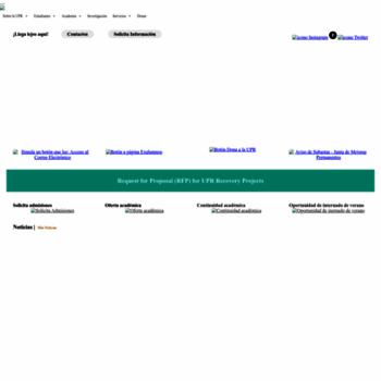 Upr.edu thumbnail