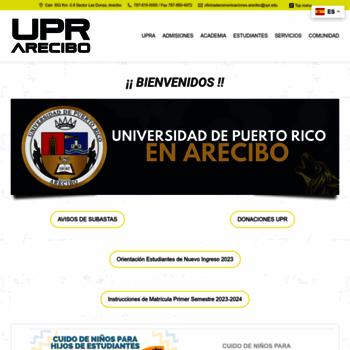 Upra.edu thumbnail