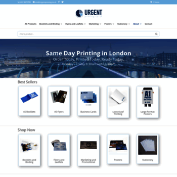 Urgentprinting.co.uk thumbnail