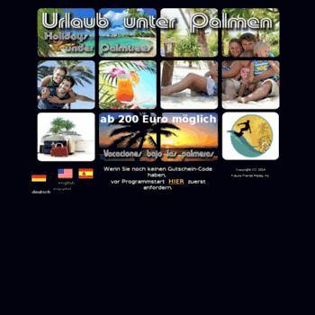 Urlaub-unter-palmen.info thumbnail