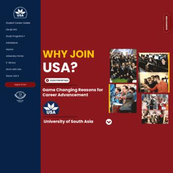 Usa.edu.pk thumbnail