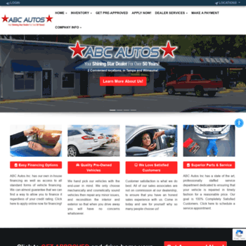 Buy Here Pay Here Tampa >> Usedcarstampaflorida Com At Wi Abc Autos Used Cars Tampa