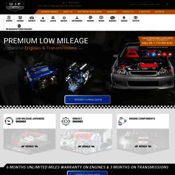 usedjapanmotors com at WI  Used Japanese Engines | Buy low