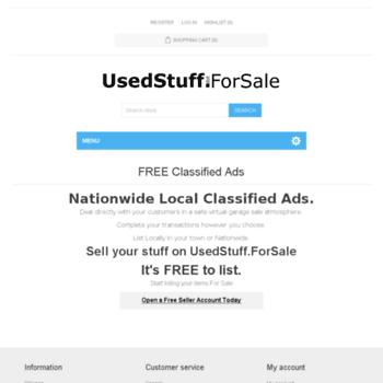 Usedstuff.forsale thumbnail