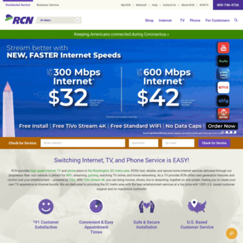 users rcn com at WI  High Speed Internet, Digital Cable TV