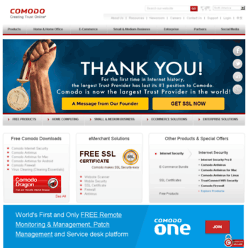 usertrust com at WI  Comodo | Global Leader in Cyber