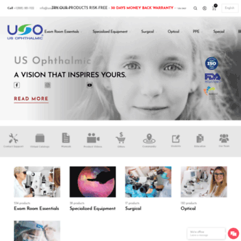 usophthalmic com at WI  US Ophthalmic | Best Ophthalmic