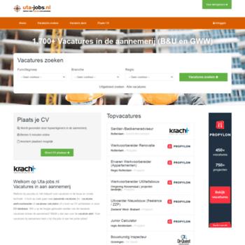 Uta-jobs.nl thumbnail